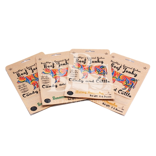 Kraft Paper Laminated Packaging Bags Food Grade High Durable With Window