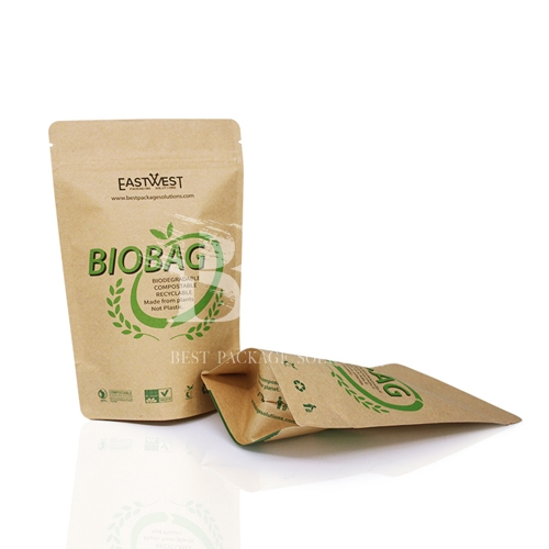 ECO Printing Compostable Pouch for Green Oriented Eco-conscious Brands
